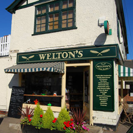 Weltons Deli Great Bowden Shop